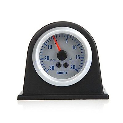 "Universal 2"" 52MM Car Gauge Single Black Plastic Gauge Dash Mount Pod Holder TW"