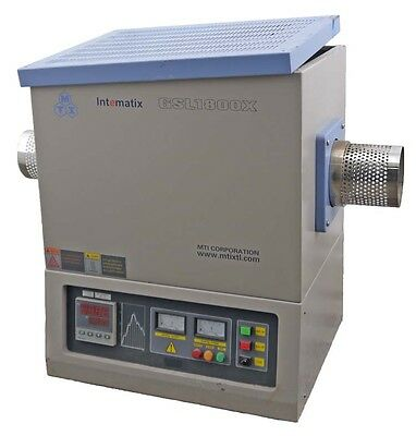 MTI GSL1800X Industrial Temp Control Heavy-Duty 1800?C Vacuum Tube Furnace