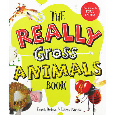 The Really Gross Animals Book by Emma Dodson (Paperback), Children's Books, New