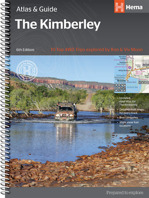 Hema Maps The Kimberley - Atlas & Guide - Top 10 4Wd Tracks 5Th Edition