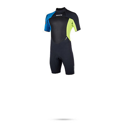 Mystic Star 3/2 Flatlock Shorty Wetsuit 2017 - Lime