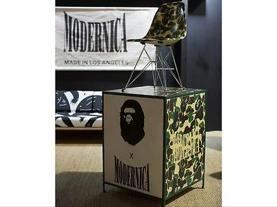 BAPE x Modernica Case Study Shell Chair - Eames Bathing Ape Camo Brand New