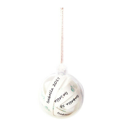 Baby's First Girls 'Isabella 2017' Hanging Ornament