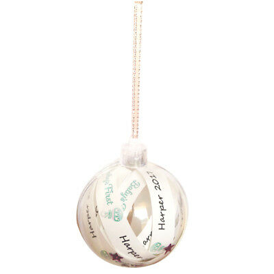 Baby's First Girls 'Harper 2017' Hanging Ornament
