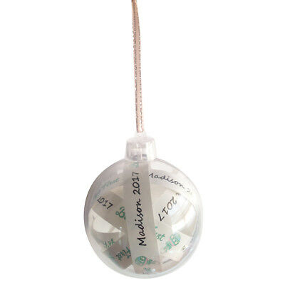 Baby's First Girls 'Madison 2017' Hanging Ornament