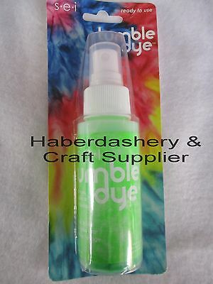 S*e*i Fabric & Craft Dye *permanent *water Based Neon Green