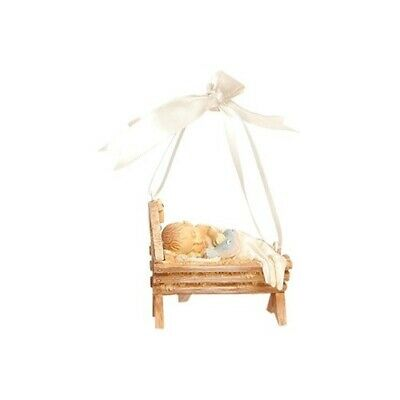 Baby in Manger - A Foundations Ornament - 6cm