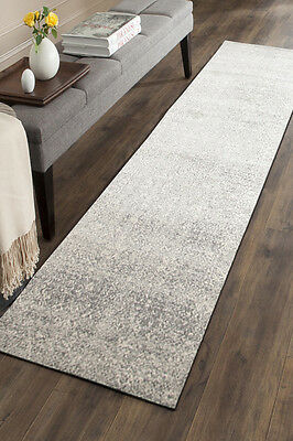Hallway Runner Hall Runner Rug 4 Metres Long FREE DELIVERY Edith 252 Silver