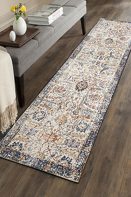 Hallway Runner Hall Runner Rug 3 Metres Long FREE DELIVERY Edith 255 Ivory