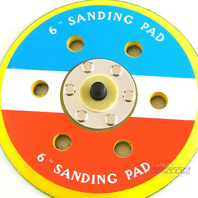 "6"" Dual Action Random Orbital Sanding Pad Polishing Pad 12000RPM For Air Sander"