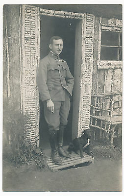 WWI K.u.K. Austro-Hungarian Army, Soldiers, Officers, Front Filed original photo