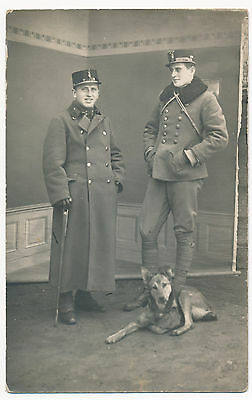 WWI K.u.K. Austro-Hungarian Army, Soldiers, Officers, Axe, Dog, original photo