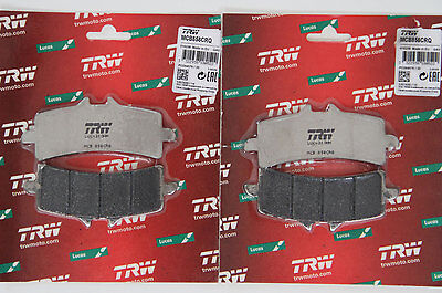 TRW Bremsbeläge MCB 792 CRQ Carbon Racing Ducati Panigale brake pads