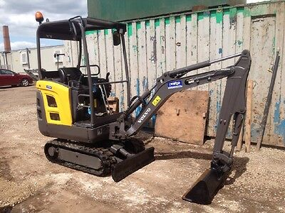 Volvo 2013 - 1.5 Tonne Mini Excavator And Buckets -Hours - 1600