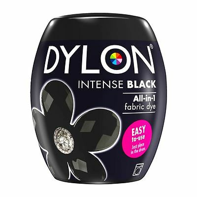 Dylon Machine Dye Pod Fabric Clothes All in One - Intense Black 350g