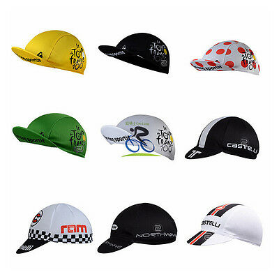 Unisex Cycling Hat Bicycle Sports Cap Absorb Sweat Sunhat Suncap Polyester Mesh