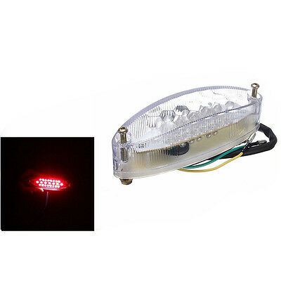UNIVERSAL MOTORCYCLE 28 LED NUMBER PLATE Rear TAIL/BRAKE/STOP LIGHT Emark