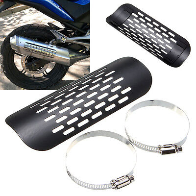 Motorcycle Exhaust Muffler Pipe Heat Shield Cover For Harley Chopper Cruiser