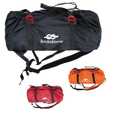 3Pcs Portable Folding Climbing Rope Bag Mountaineering Gear Holder Backpack
