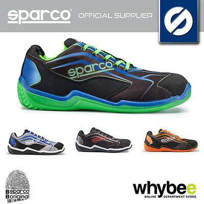 07514 New Sparco Touring L S1P Work Safety Trainers Shoes (Safety Footwear)