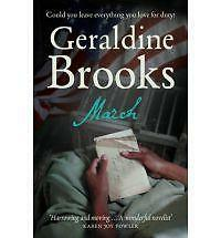 March: A Love Story in a Time of War, Geraldine Brooks, New Book