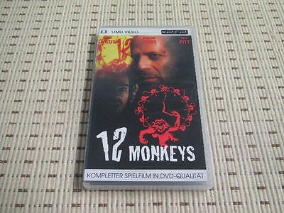 12 Monkeys Film UMD für Sony PSP *OVP*