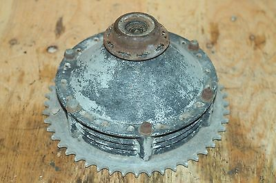 1974 75 Husqvarna Gp 175 Rear Wheel Hub And Sprocket Vintage  Freeshipus+Canada