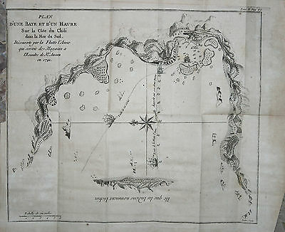 Coast and bay of Chile - Anson 1750