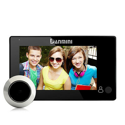 2.0MP HD4.3inch Color Screen digital Peephole Viewer wide angle 145degrees