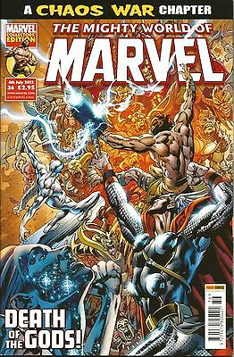 THE MIGHTY WORLD OF MARVEL VOL.4 # 36 / MARVEL / PANINI UK / 4th JUL 2012 / N/M