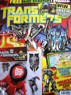 Transformers Vol.2 # 18 / Titan - Nov 2010 - Uk Exc N/m