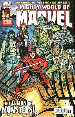 The Mighty World Of Marvel # 8 (Vol 5) / Marvel Now / Panini Uk / Feb 2015 / N/m