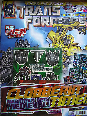 Transformers Vol.1 # 11 / Titan Comics / May 2008 / Uk Exclusive / N/m