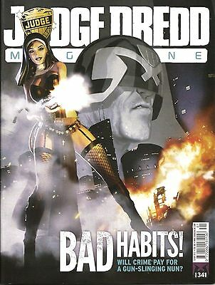 JUDGE DREDD MEGAZINE # 341 / 19th NOV 2013 / REBELLION / N/M / DREDD UNDERBELLY