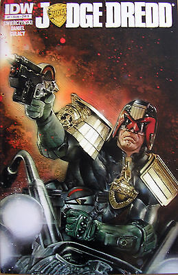 JUDGE DREDD # 1 / COVER B / IDW COMICS - NOV 2012 / 1st PRINT / N/M