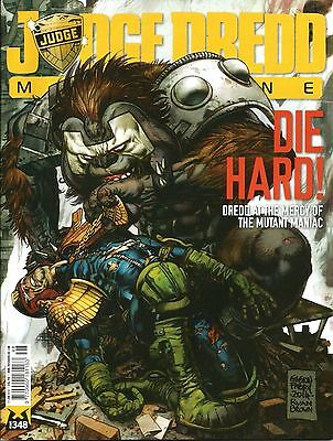 JUDGE DREDD MEGAZINE # 348 / 17th JUNE 2014 / REBELLION / UK EXC /  N/M / 2000AD