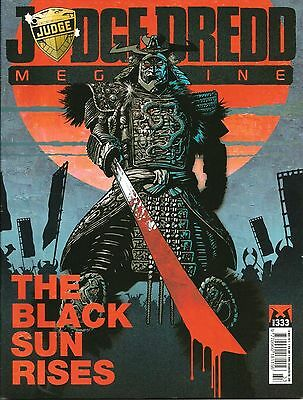 JUDGE DREDD MEGAZINE # 333 / 19th MAR 2013 / REBELLION / UK EXC / N/M / 2000AD