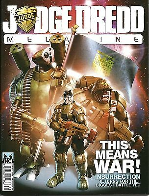 JUDGE DREDD MEGAZINE # 334 / 16th APR 2013 / REBELLION / UK EXC / N/M / 2000AD