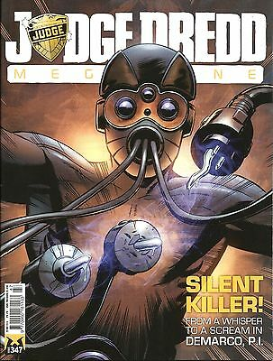 JUDGE DREDD MEGAZINE # 347 / 20th MAY 2014 / REBELLION / UK EXC / NM / 2000AD