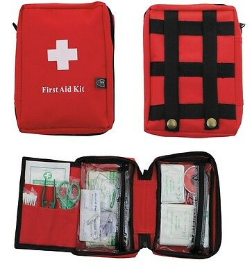 First Aid Pack Large ROT MFH großes Erste-Hilfe-Set in Molle Tasche Notfallset