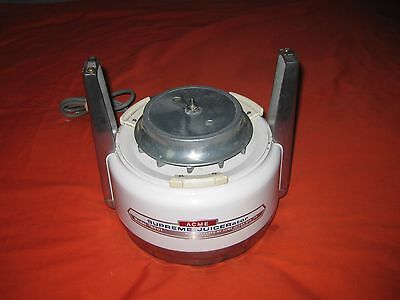 Vintage Acme Supreme Juicerator 6001 Base Motor Replacement Part Only