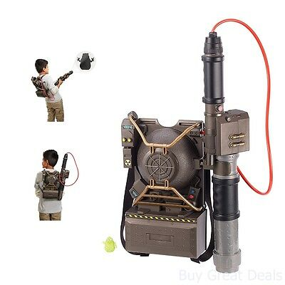 Ghostbusters Proton Pack Projector Ghost Hunting Gear Backpack Blaster Action