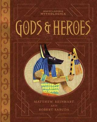 Encyclopedia Mythologica: Gods and Heroes by Matthew Reinhart (English) Hardcove