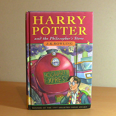 Harry Potter Philosopher's Stone 1st Edition First Print 1/1 TS Hardback Book