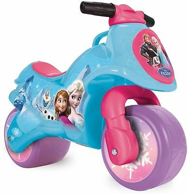 Disney Frozen Foot To Floor Ride On Kids Balance Push Bike