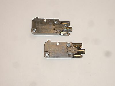 Net 2X Omron K1Pn Ms5 Spdt On-(On) Momentary Snap Micro Switch 6A 125Vac 2Pc Set