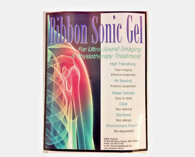 ULTRASOUND GEL SACHET (Concentrate Makes 2 Litres) - FREE POSTAGE