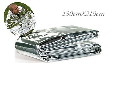 First Aid Survival Rescue Waterproof Foil Emergency Blanket Thermal Camping