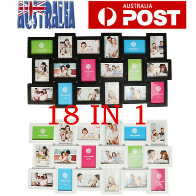 Multi Photoframe Frames Love Family Picture Wall Decor Photo Frame Gift AU