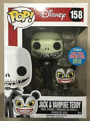 Pop Vinyl - Jack & Vampire Teddy New York Comic-Con Limited Edition